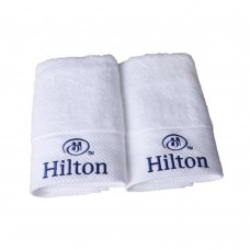 100% cotton cheap hotel washcloth white face towel