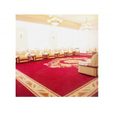 Any size design machine woolen hand tufted wall to wall carpet