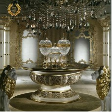 European Luxury Living Room Console Table