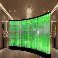 Custom made water bubble panel soundproof office partition walls